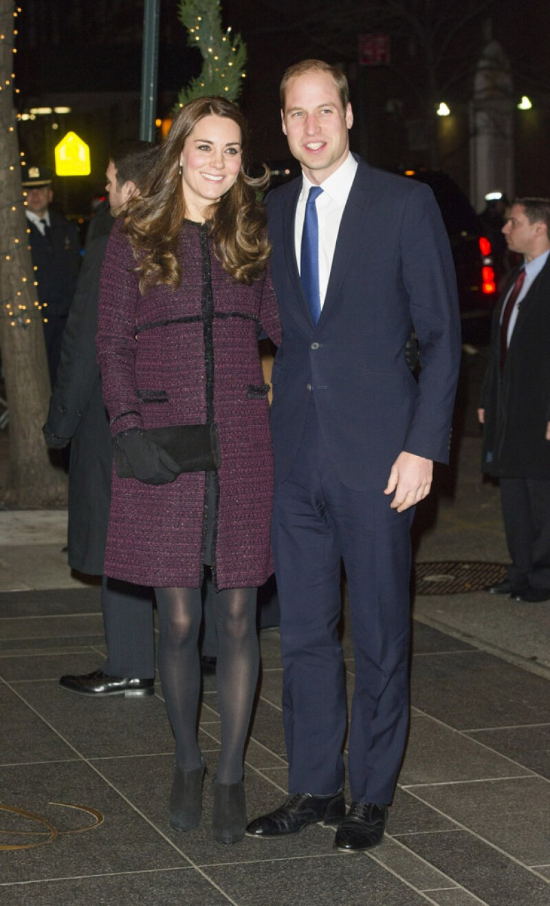 William y Kate en su más reciente viaje a Nueva York.