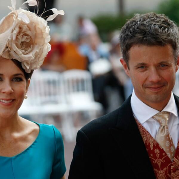 Los príncipes de Dinamarca, Mary y Federico.