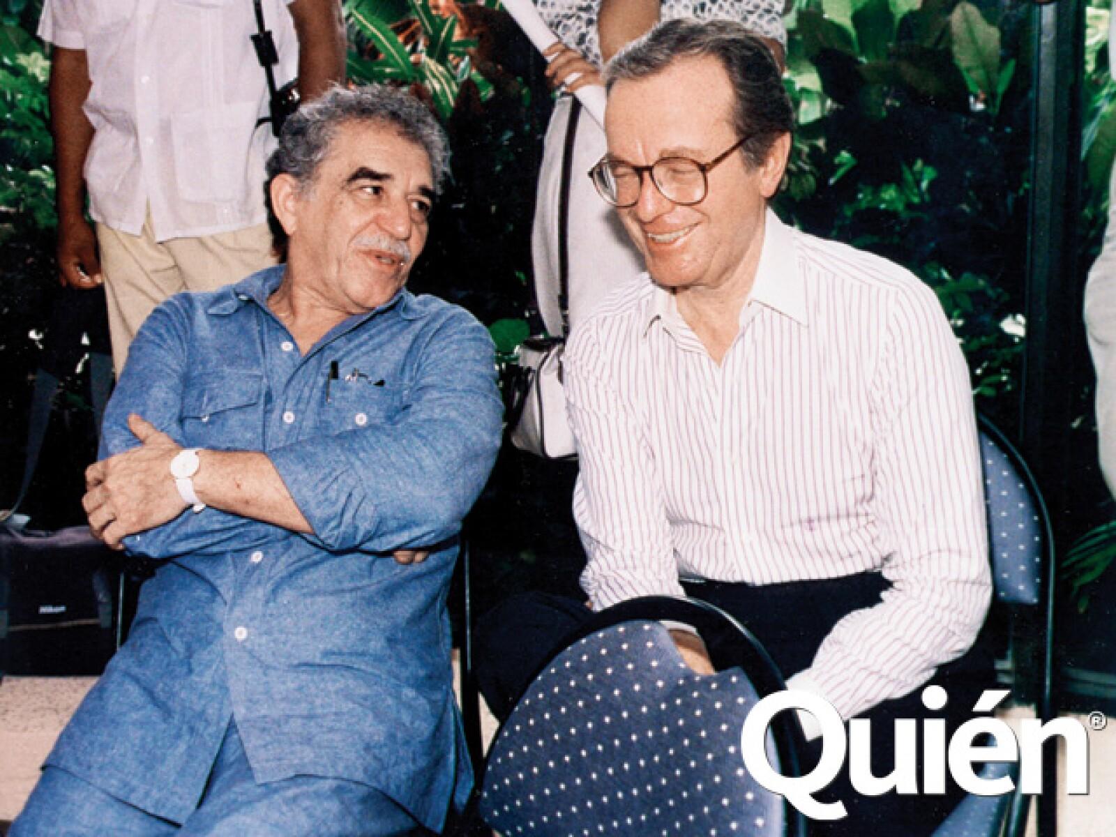 Gabriel García Márquez su gran amigo.