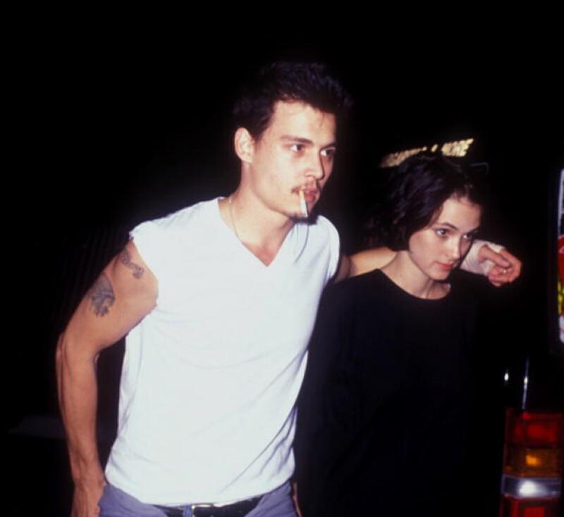 Johhny Depp no se quitó su tattoo en honor a Winona, simplemente le quitó un par de letras.