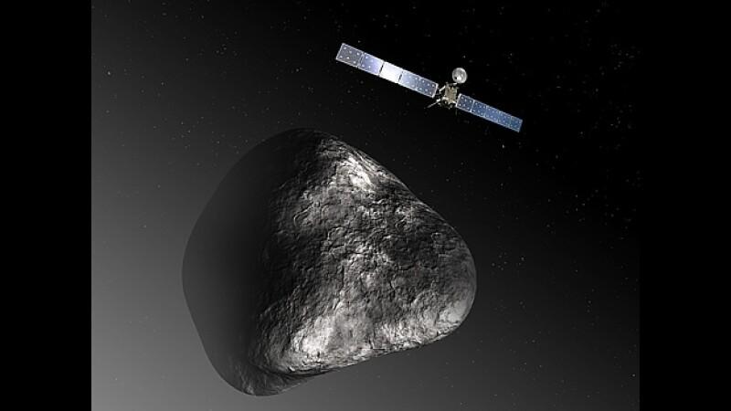 sonda Rosetta cometa