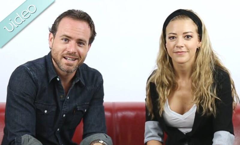 La pareja y protagonistas de Wake Up Woman juegan a Pregunta sorpresa, y terminan revelando las indiscreciones y secretos detrás de su relación y puesta en escena.