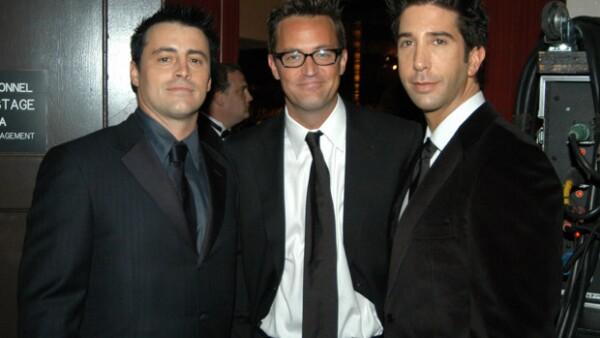 """Al parecer los personajes de Friends no son tan amigos en la vida real como en la serie, pues Matt LeBlanc y Matthew Perry revelaron el porqué no asistieron a la boda de """"Rachel""""."""