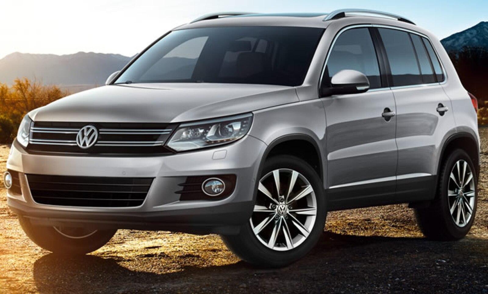 Volkswagen dio a conocer la disponibilidad en sus concesionarias del nuevo Tiguan 2012, que evoca el diseño de su hermano mayor el Touareg.
