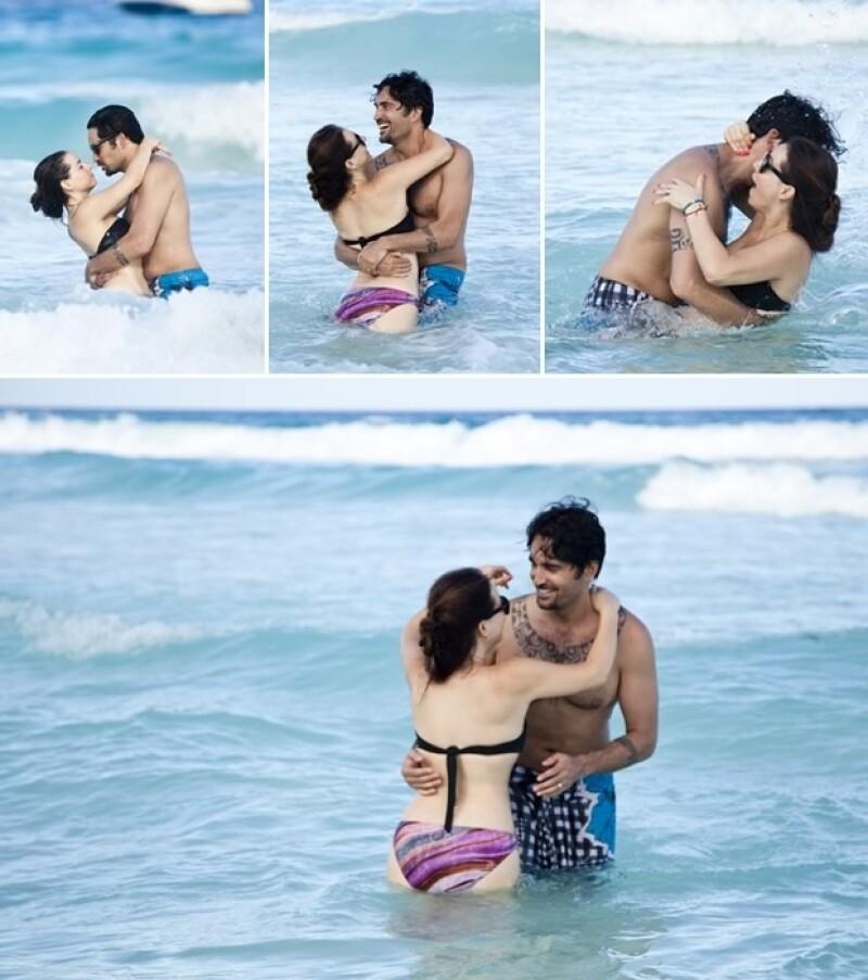 La conductora de televisión, aseguró que el Hotel Me Cancún es un lugar ideal para las parejas.