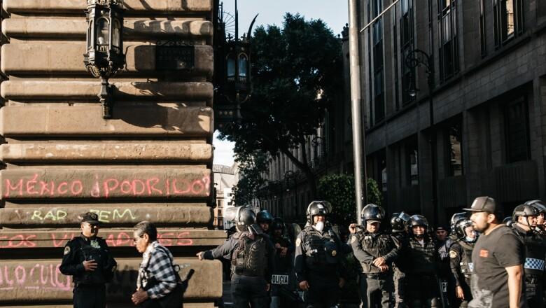 Marcha por la represión estudiantil del 2 de octubre de 1968