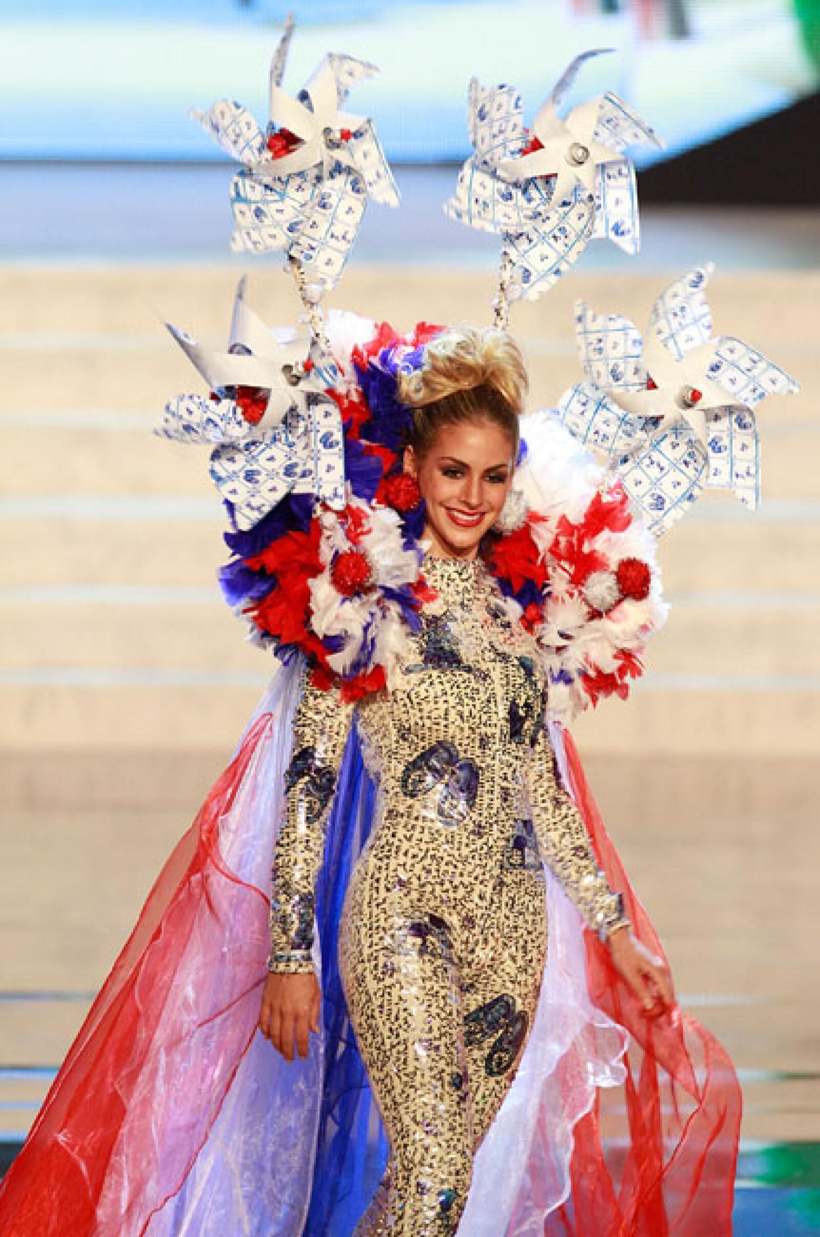 Miss Países Bajos, Nathalie den Dekker.