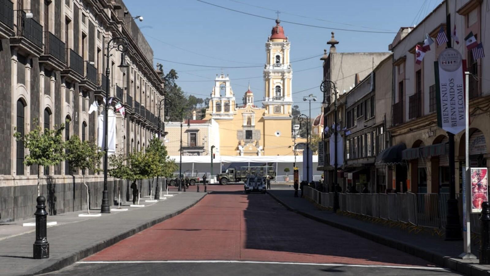 plaza vacia centro de toluca