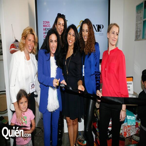 Beatriz Pasquel,María Laura Salinas,Celia Daniel,Claudia Flores,Carla Aparicio,Sydney Brown