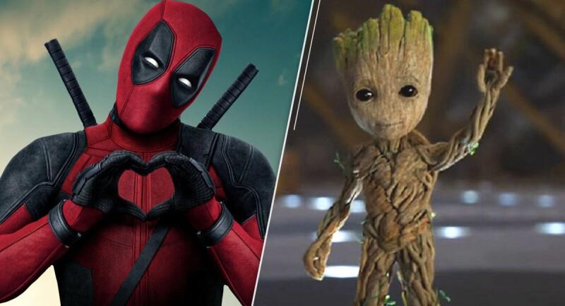 ¿Deadpool y Groot juntos?