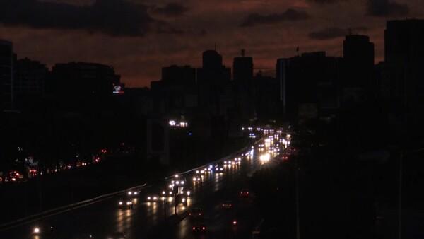 Así se vivió el apagón que dejó en penumbra a varias regiones de Venezuela