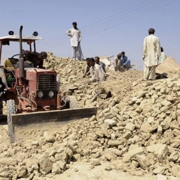 sismo en una provincia de pakistan
