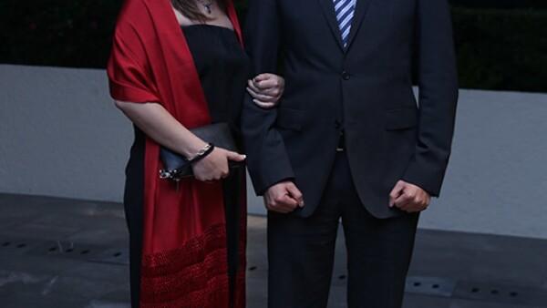 Priscila Fermat y Alejandro Melendez