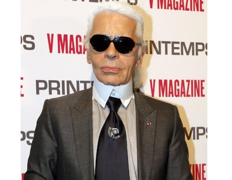 Karl es uno de los genios creativos de la moda más respetados.