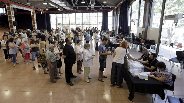 Las elecciones españolas tuvieron una participación de más del 50%.