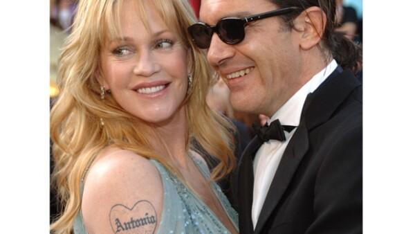 Por si había duda, Melanie Griffith ama con todo su corazón a Antonio Banderas.
