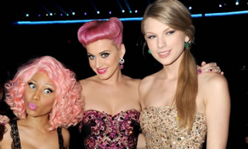 Taylor Swift Nicki Minaj Y Katy Perry Los Números