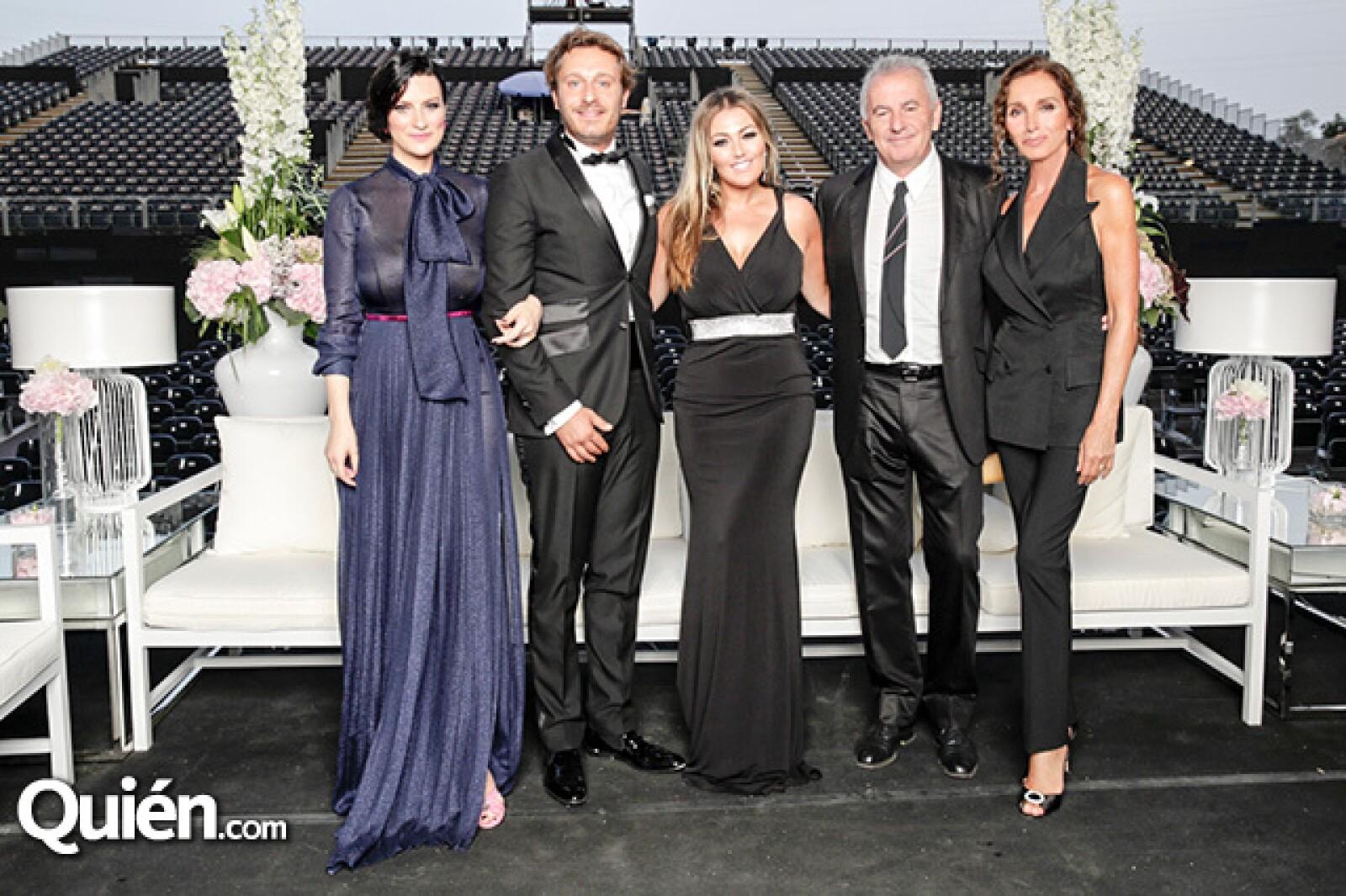 Laura Pausini, Juan Peña, Amaia Montero, Víctor Manuel y Ana Belén