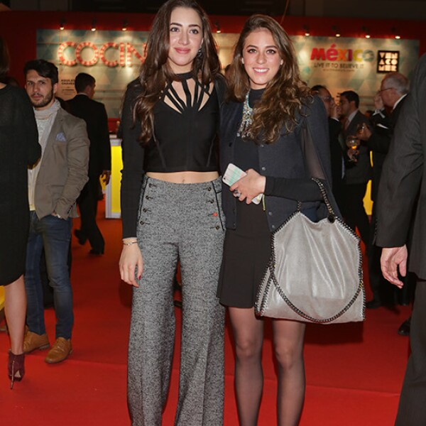 Karen Nacif y Fabiola Arozqueta