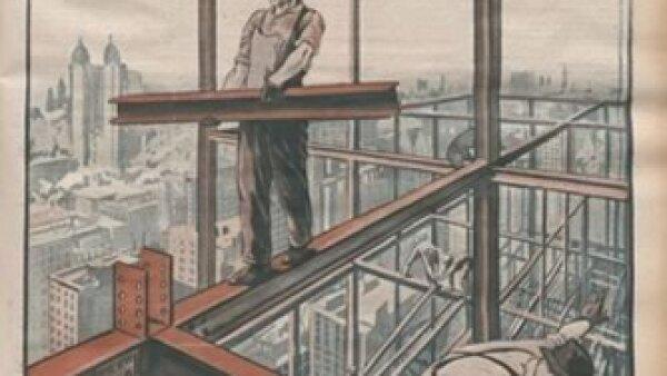 Altas estructuras de acero. Cr�dito: Archivo de la Bibliot�que Nationale de France