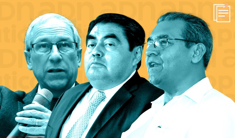 Candidatos en Puebla