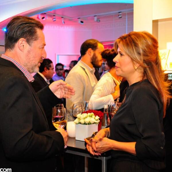 Teodoro Rodríguez y Claudia Grajales