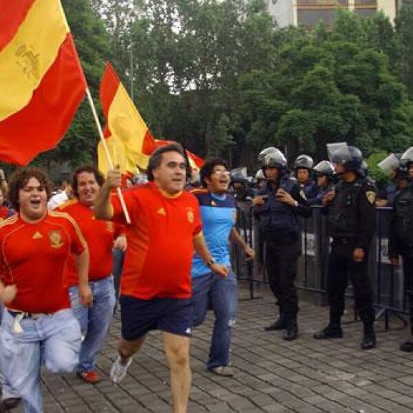 España celebra