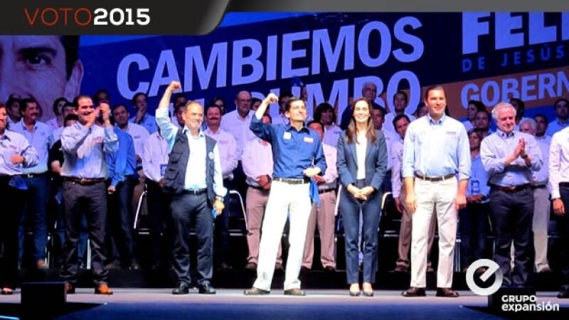 Gobernadores con Felipe