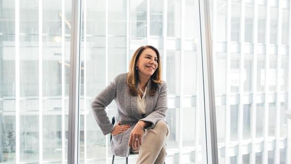 Nora Villafuerte, la mujer detrás del área de Recursos Humanos en Nestlé