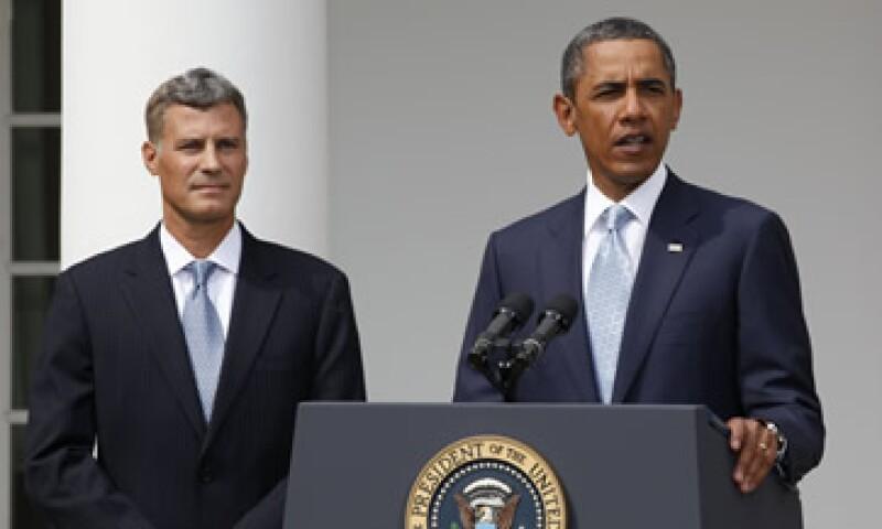 Con Krueger a su lado, Obama dijo que se apoyará en él para recibir consejos francos sobre cómo bajar la tasa de desempleo. (Foto: Reuters)