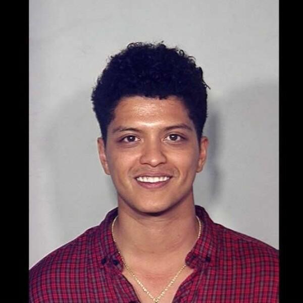 El cantante Bruno Mars fue arrestado el 19 de septiembre de 2010