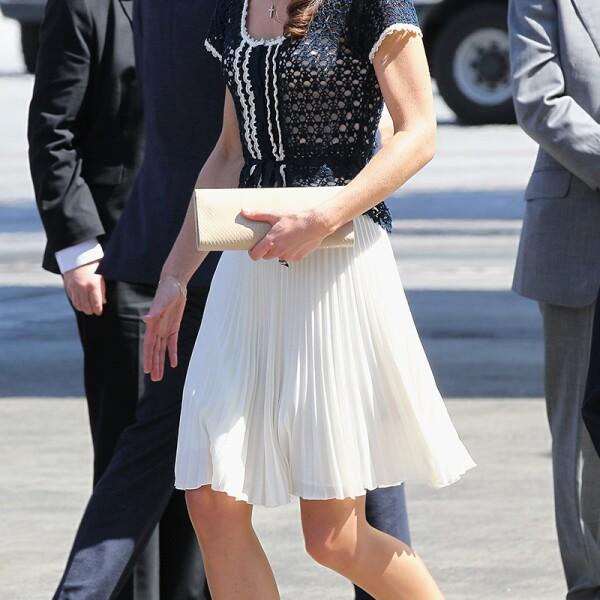 Prince William and Catherine Duchess of Cambridge depart Los Angeles, Royal Tour, California, America - 10 Jul 2011
