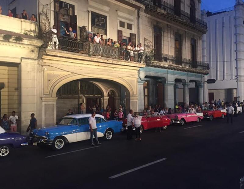 Chanel llevó a cabo su desfile en El Paseo del Prado en La Habana, Cuba.
