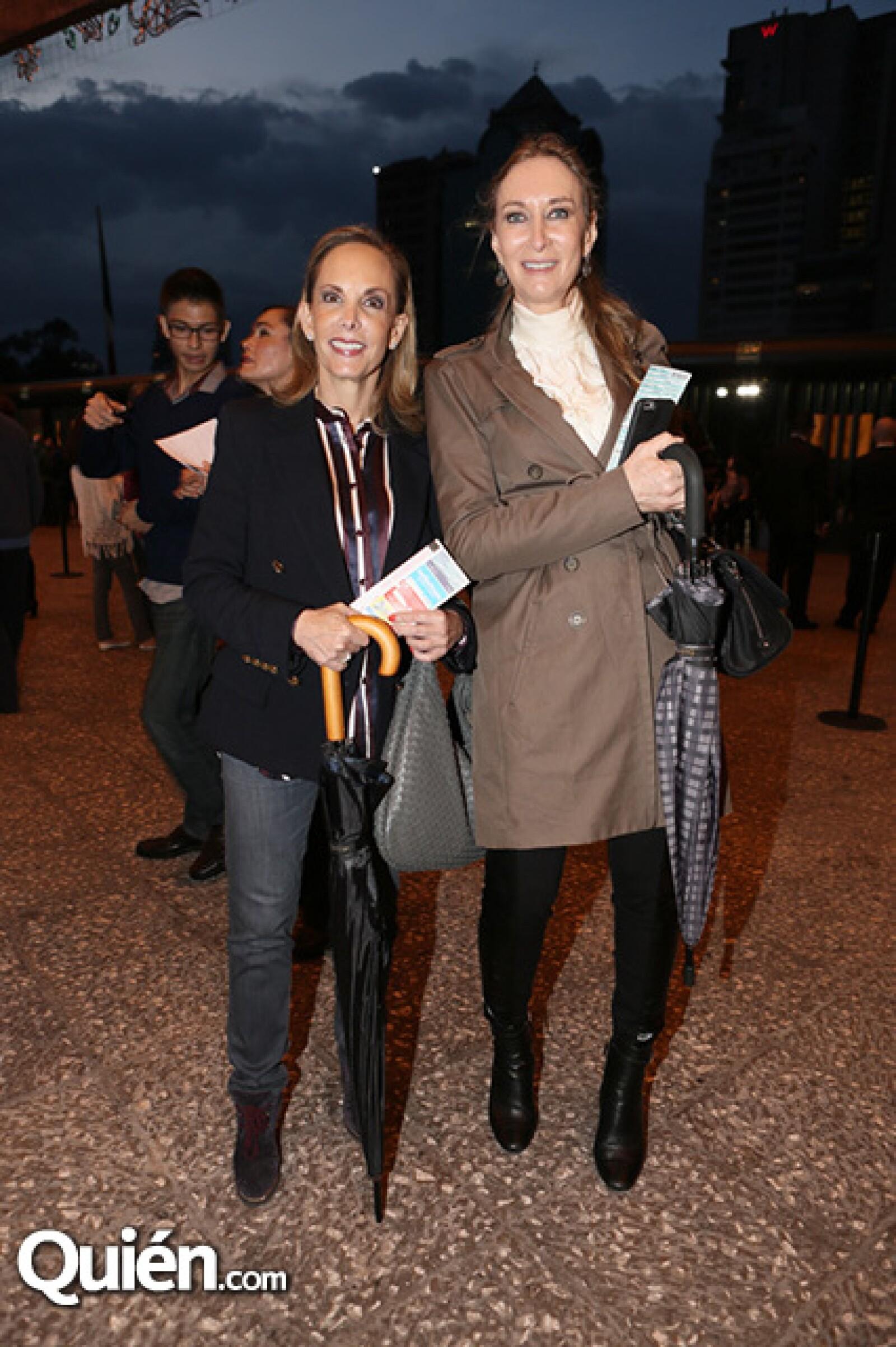 Mónica Berger y Janet Kurc