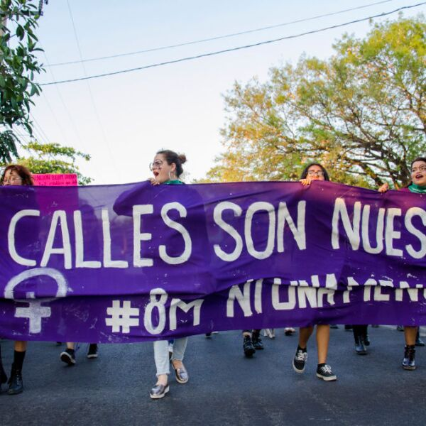 International Women's Day In Colima, Mexico