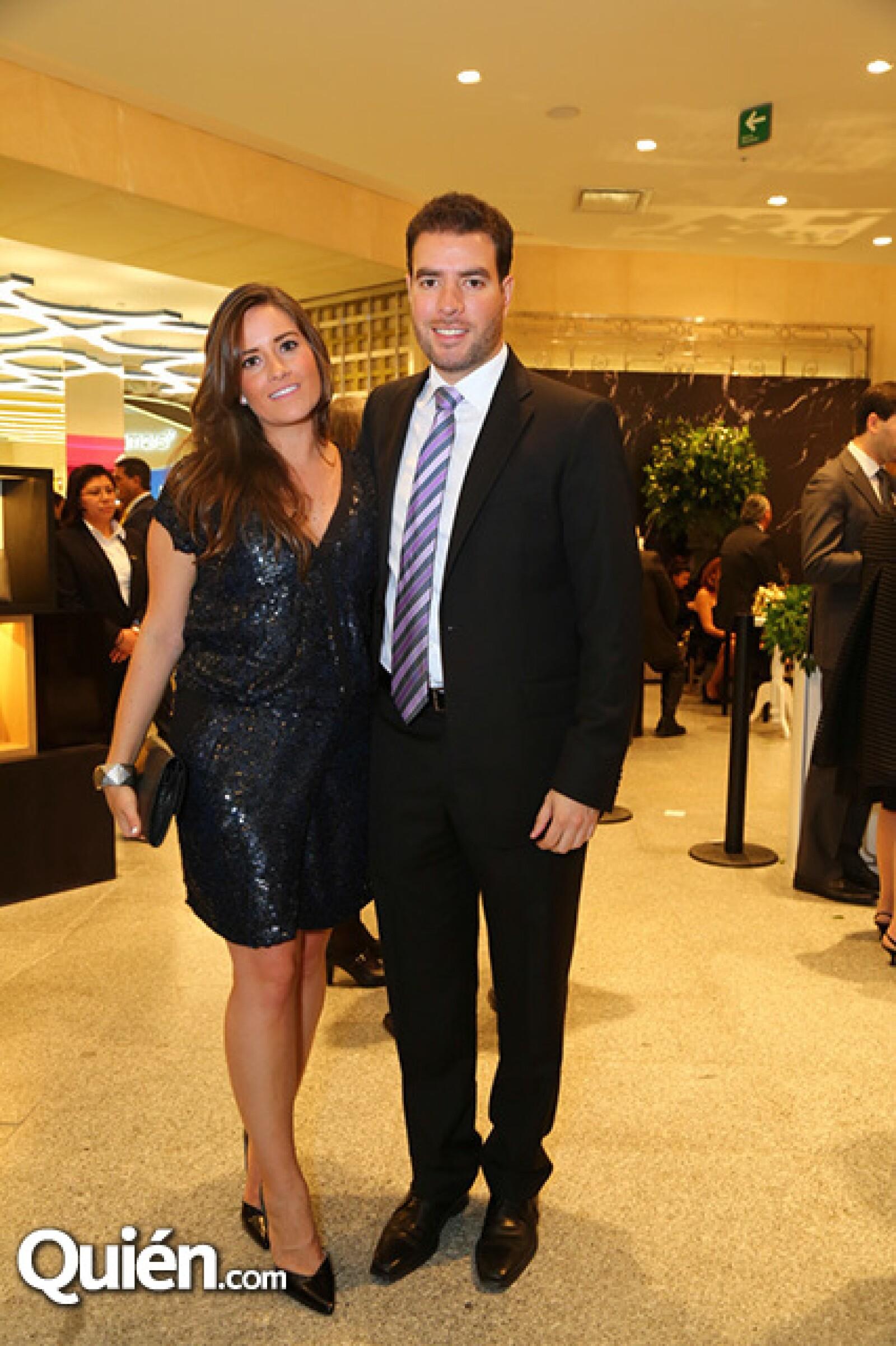 Fernanda Loera y Alvaro García