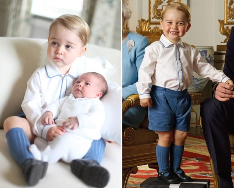 Las prendas que usa baby George se han agotado en cuestión de horas.