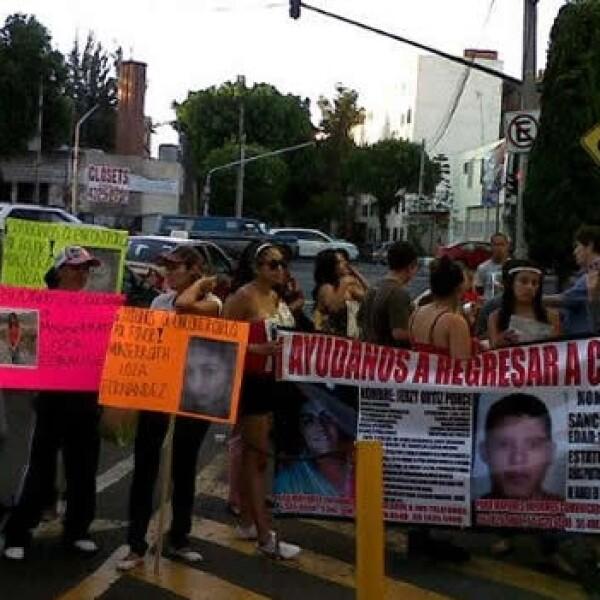 protesta familiares Tepito