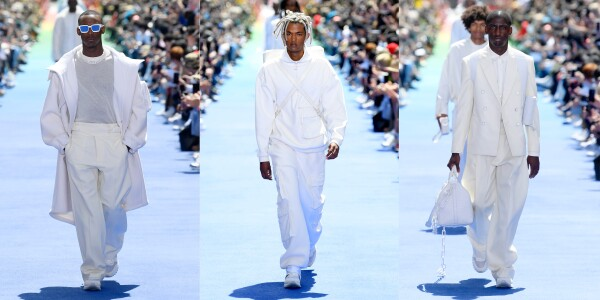 Louis Vuitton show, Runway, Spring Summer 2019, Paris Fashion Week Men's, France - 21 Jun 2018