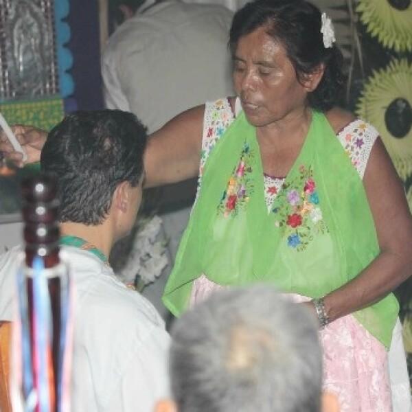peña nieto aprovechó la visita a Veracruz para hacerse una limpia