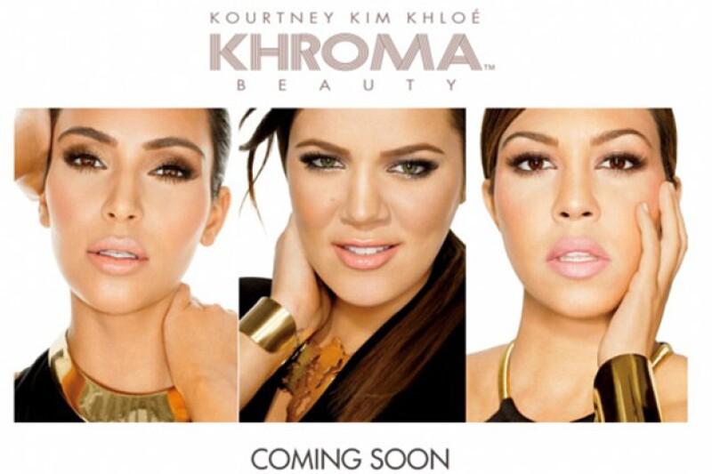 """Kourtney, Kim y Khloe lanzaron su marca llamada """"Khroma"""" la cual se podrá adquirir a partir de diciembre, fechas perfectas para comprar."""