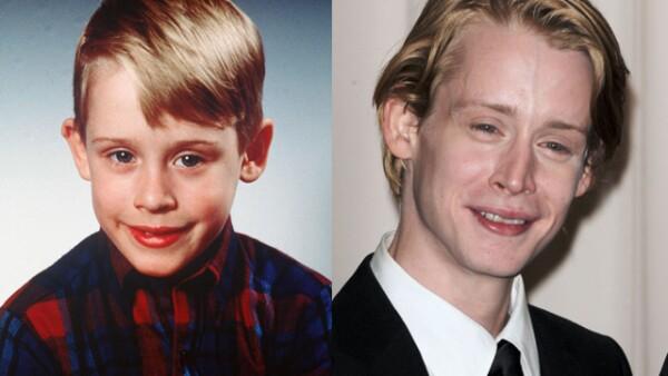 ¿Quién no recuerda al `Pobre angelito´? Macaulay Culkin dejó de ser el tierno niño que sus padres dejaron sólo en casa en la víspera de Navidad. Actualmente se recupera de sus problemas de drogadicción.