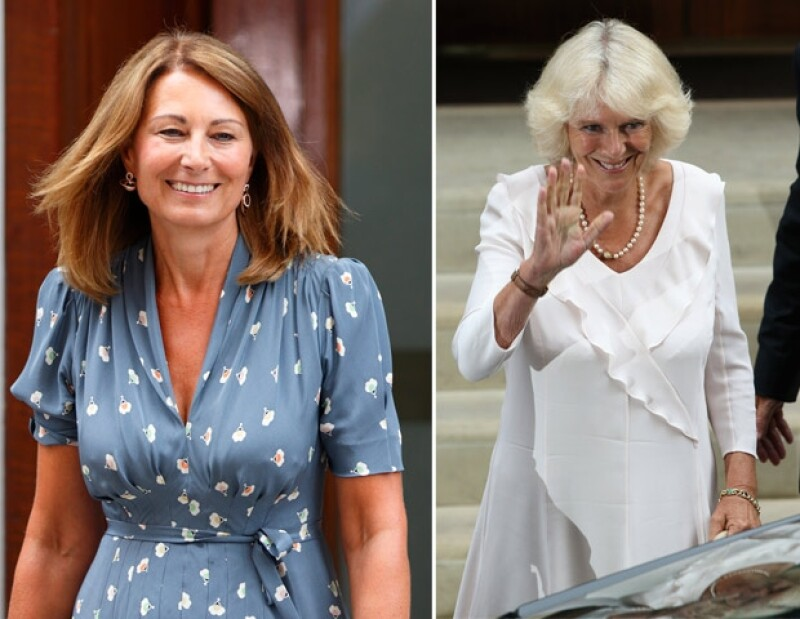 Una encuesta realizada en el Reino Unido determinó que la mamá de Kate Middleton se viste mejor ganándole a Camila Parker.