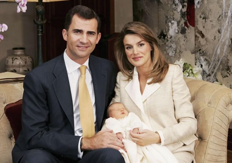 Leonor fue la primera gran `joya´ que Letizia dio a la Familia Real.