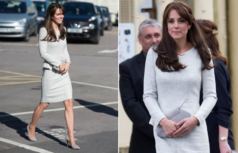 Con un look impecable, Kate lució un vestido de 550 dólares que la hizo denotar su esbelta figura a meses de haberse convertido en mamá por segunda ocasión.