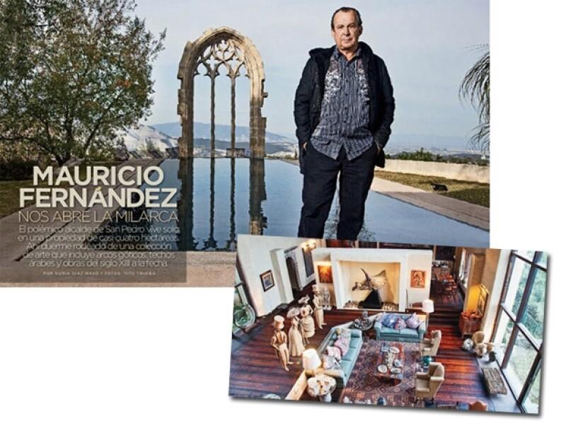 La entrevista y fotos se publicaron en la revista Quién, edición 210 (Ene. 2010) Fotos: Tito Trueba/Texto: Nuria Díaz Masó.