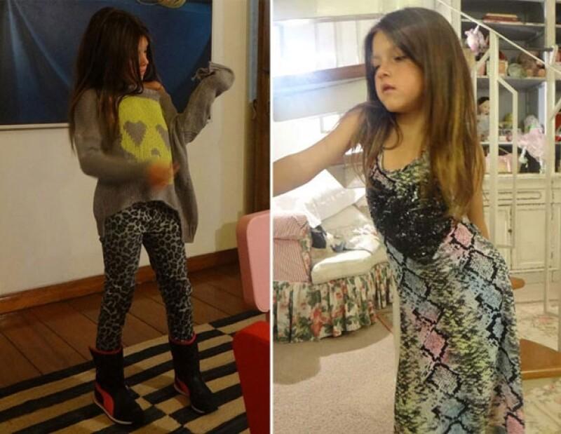 Isabella ha transmitido a su hija su pasión por la moda.