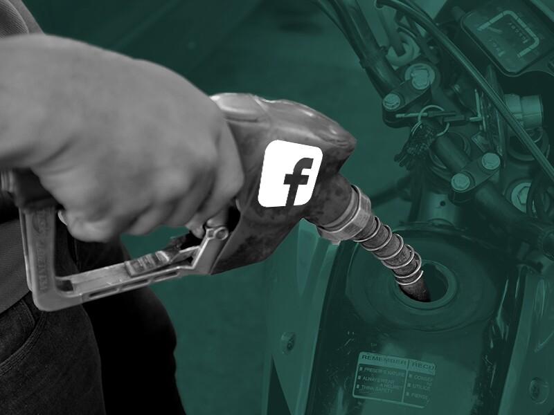 Facebook gasolina estaciones de servicio