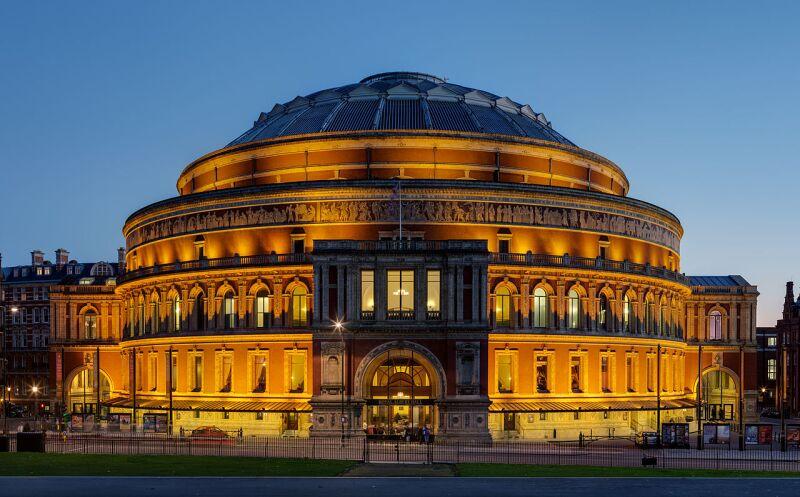 Royal Albert Hall, en Londres.
