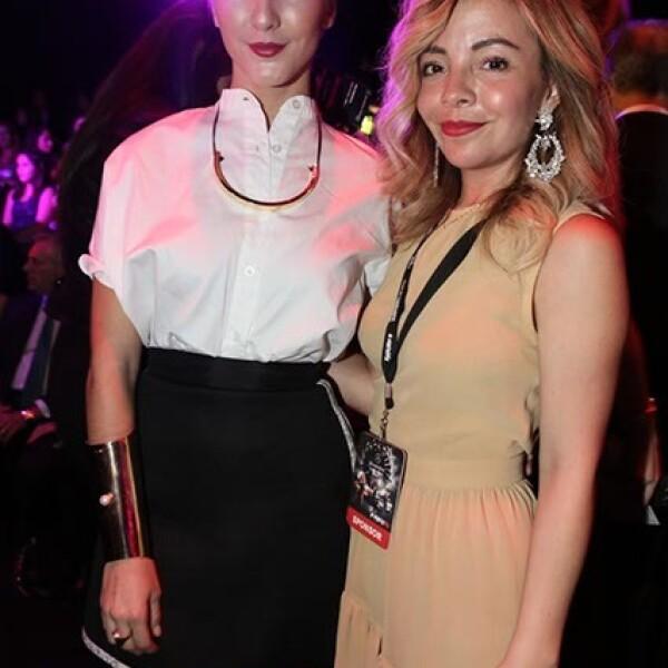 Eréndira Ibarra y Pamela Wong